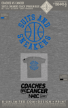 Coaches Vs Cancer - Suits & Sneakers (Coach Spradlin Blue)