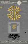 Coaches Vs Cancer - Suits & Sneakers (Coach Horn Gold)