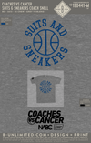 Coaches Vs Cancer - Suits & Sneakers (Coach Snell Blue)