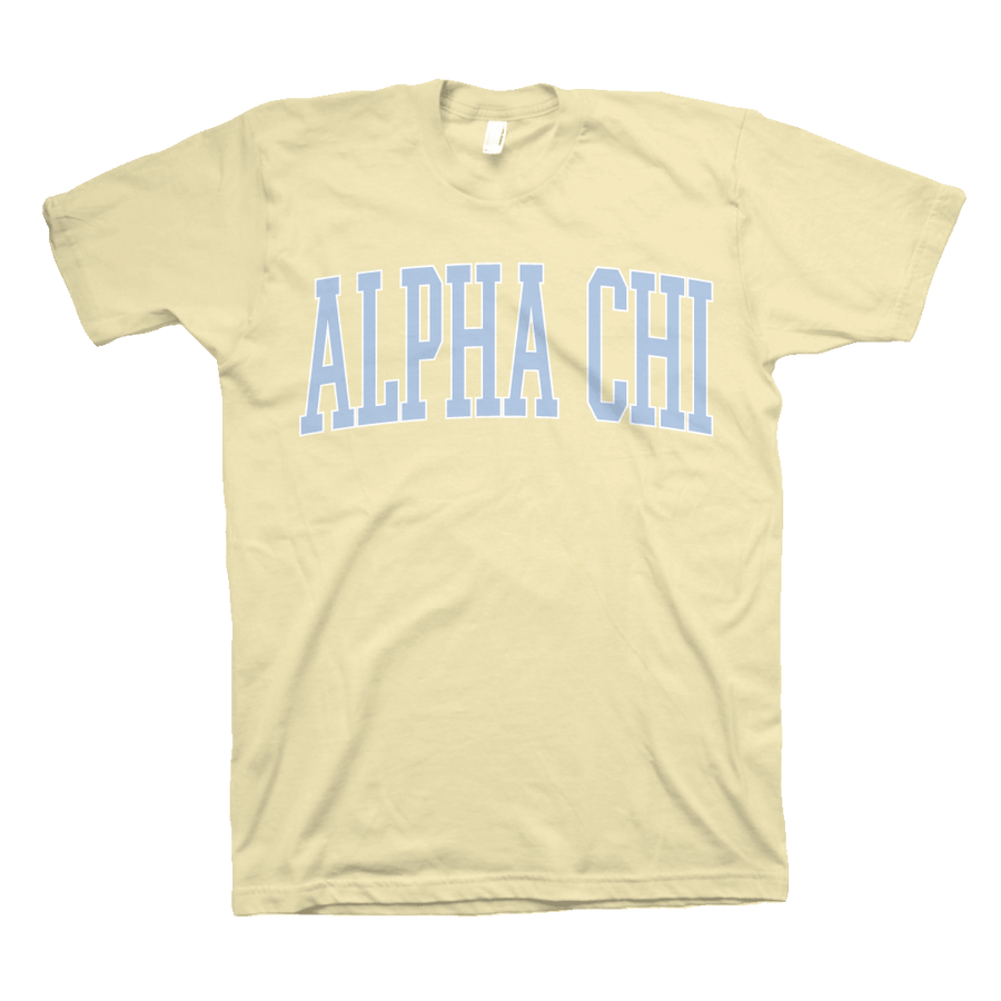 Sunny Side Up Sorority T-Shirt Alpha Chi Omega