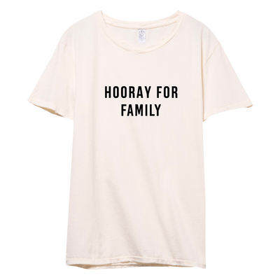 HOORAY FOR - FAMILY (RETIRED DESIGN)