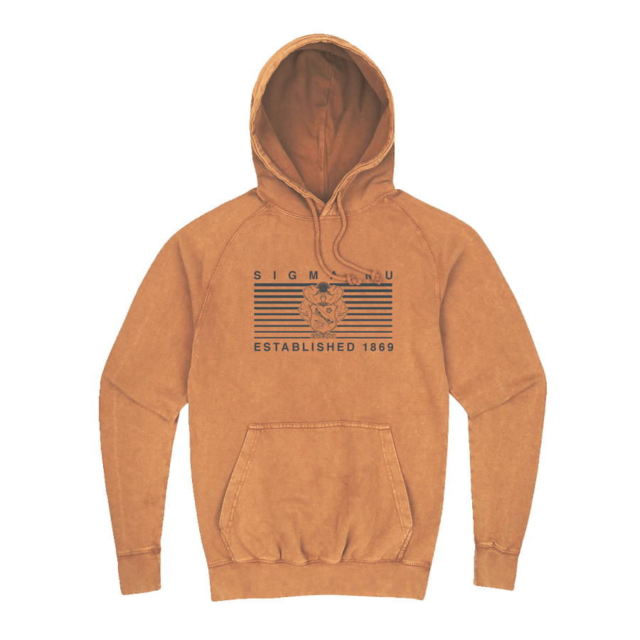 Line it Up Hoodie Sigma Nu
