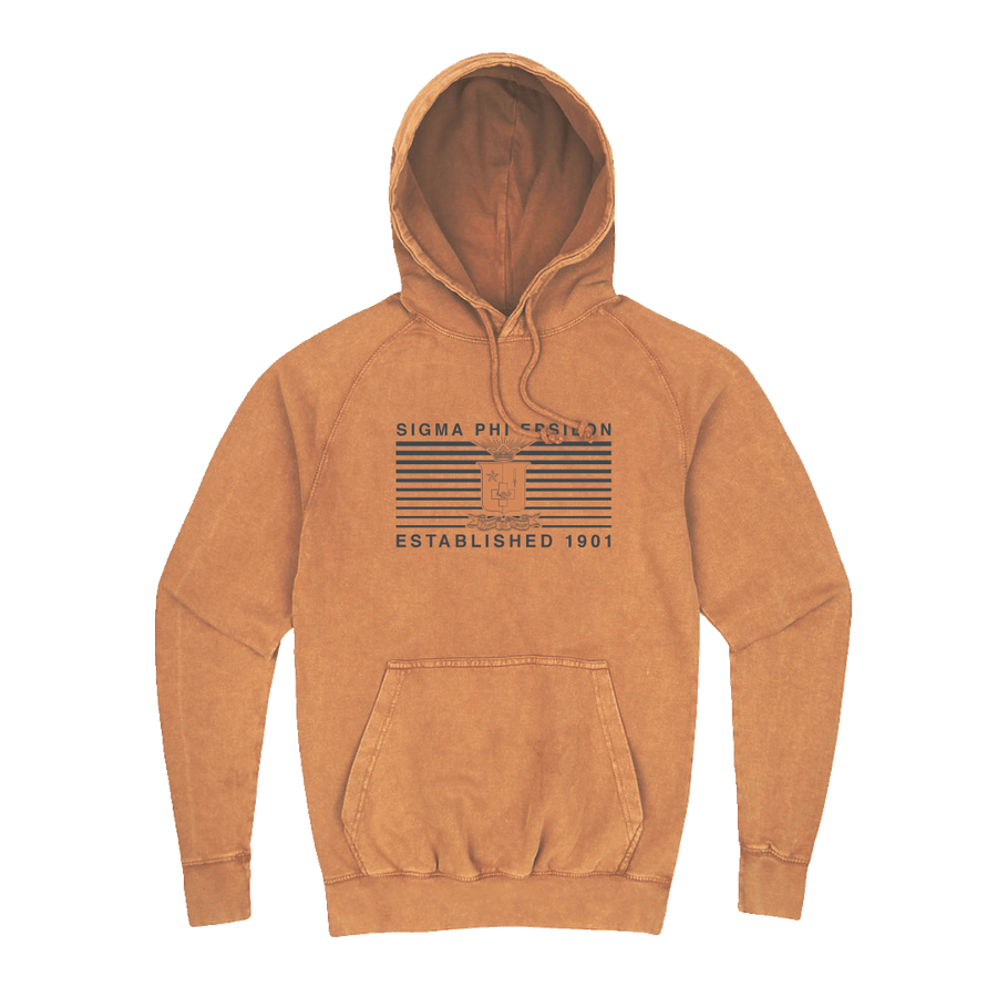 Line it Up Hoodie Sigma Phi Epsilon