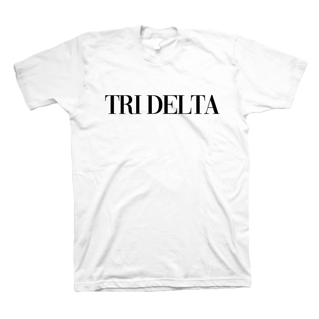 So Vogue T-Shirt Delta Delta Delta