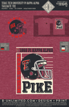 Texas Tech Pike - Tailgate Tee (Heather Red)