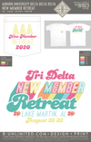 Auburn Tri Delta - New Member Retreat