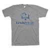 Lewis Private Academy - Lewis Academy PR (Adult Short Sleeve - Blue Ink)