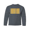 Lakeside High School - Lakeside Rams Bubble Letters - Youth (Dark Heather)
