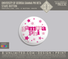 UGA Gamma Phi Beta - Stars Button