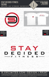 Stay Decided Fitness - Logo Tees