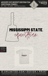 Miss State Equestrian Team - Equestrian Cowbell