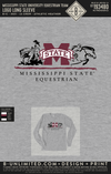 Miss State Equestrian Team - Logo Long Sleeve