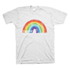 Your Threads - ROYGBIV (Adult White T-Shirt)