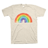 Your Threads - ROYGBIV (Adult Vintage White T-Shirt)