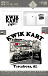 Alabama Kwik Kart - Kwik Kart Fall 2020 (White)