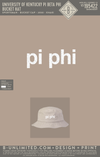 UK Pi Phi - Bucket Hat (Kahki)