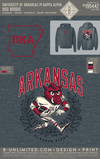 UofA Pike - Hog Hoodie (Dark Heather)