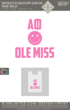 Ole Miss Alpha Phi - Phone Wallet