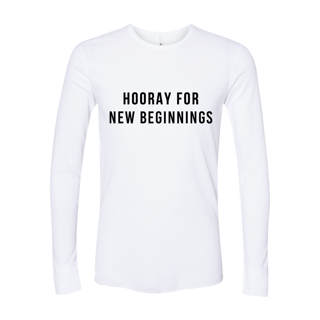 HOORAY FOR - NEW BEGINNINGS (Thermal)