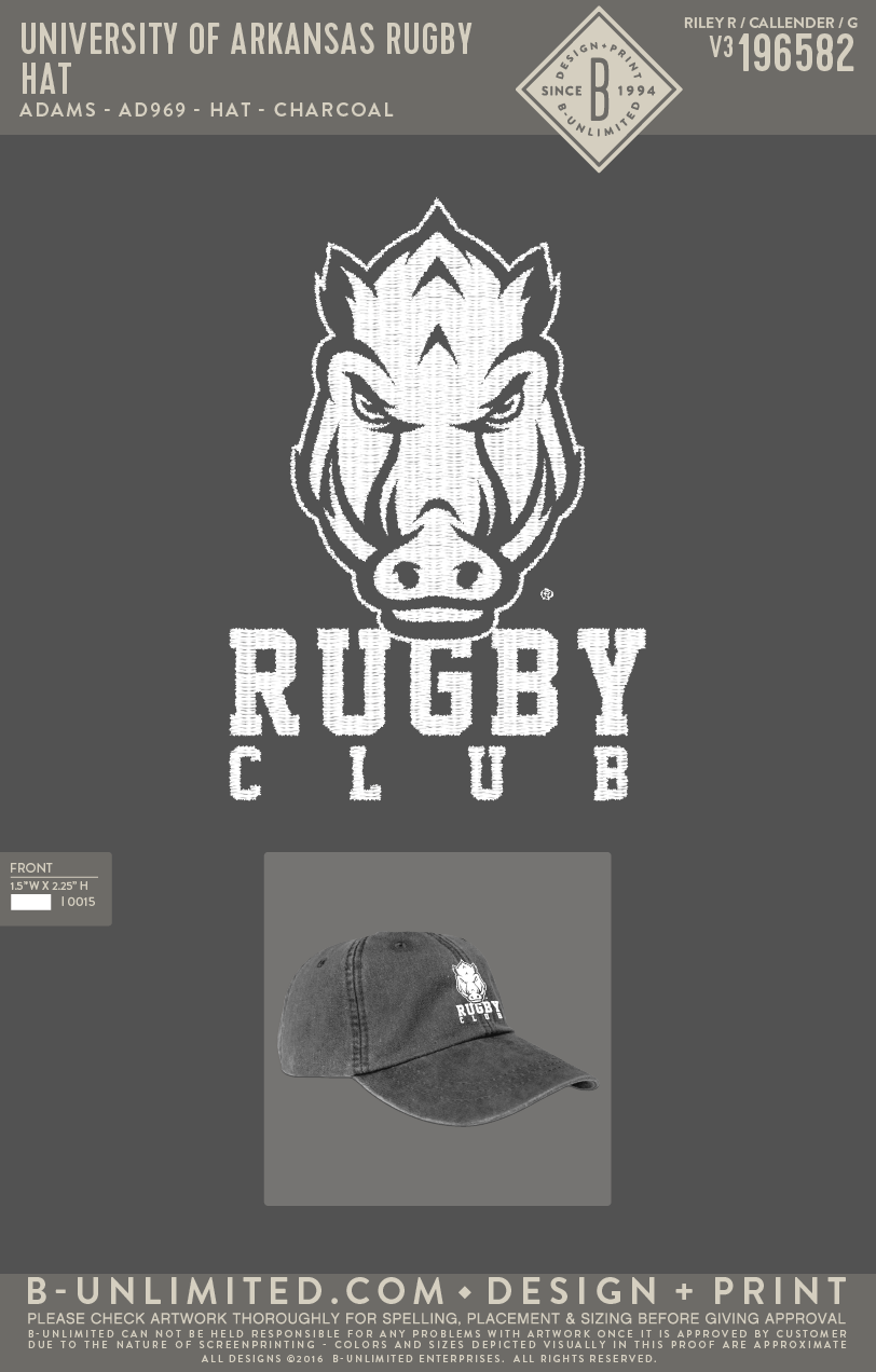 UofA Rugby - Hat