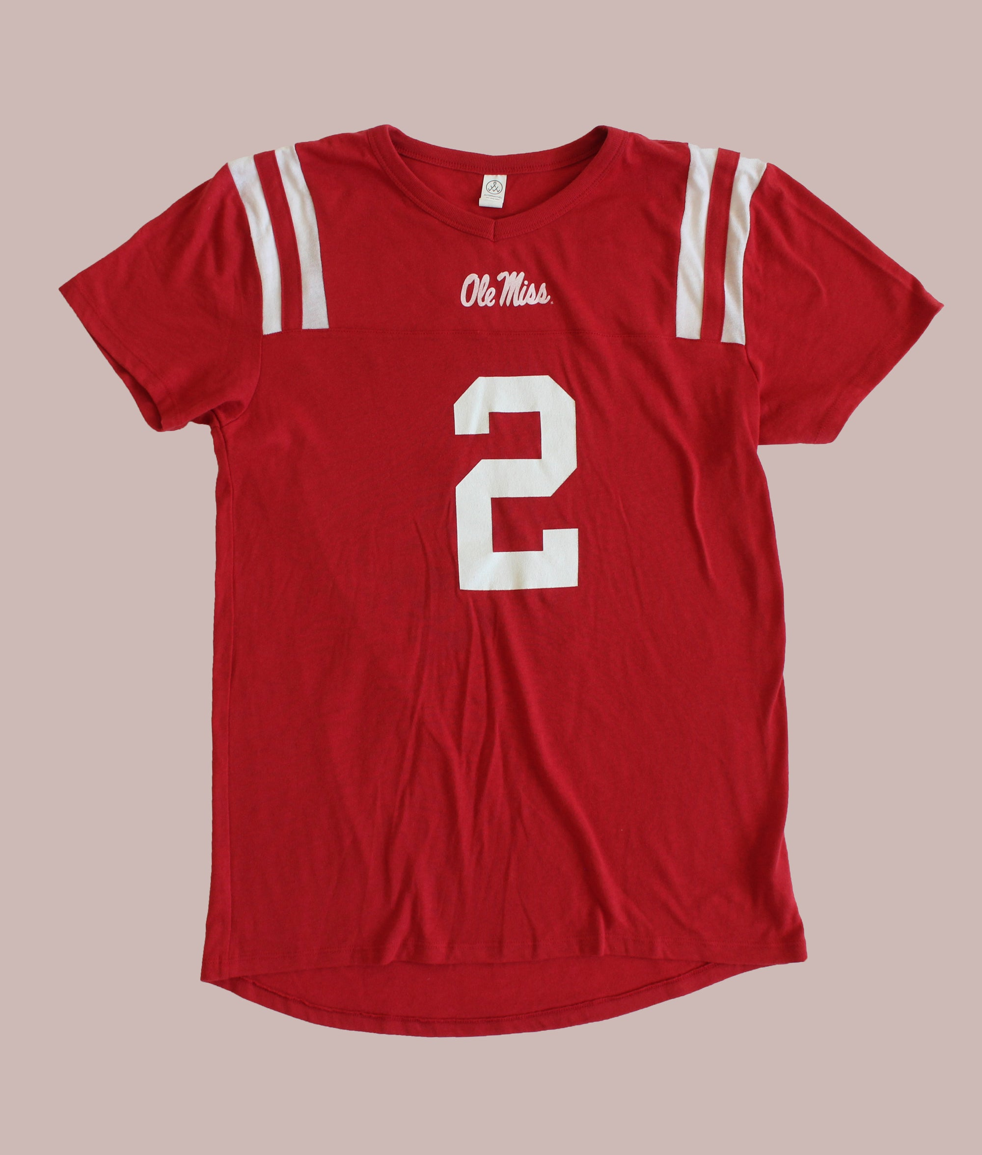 Number 2 Ole Miss Football Jersey