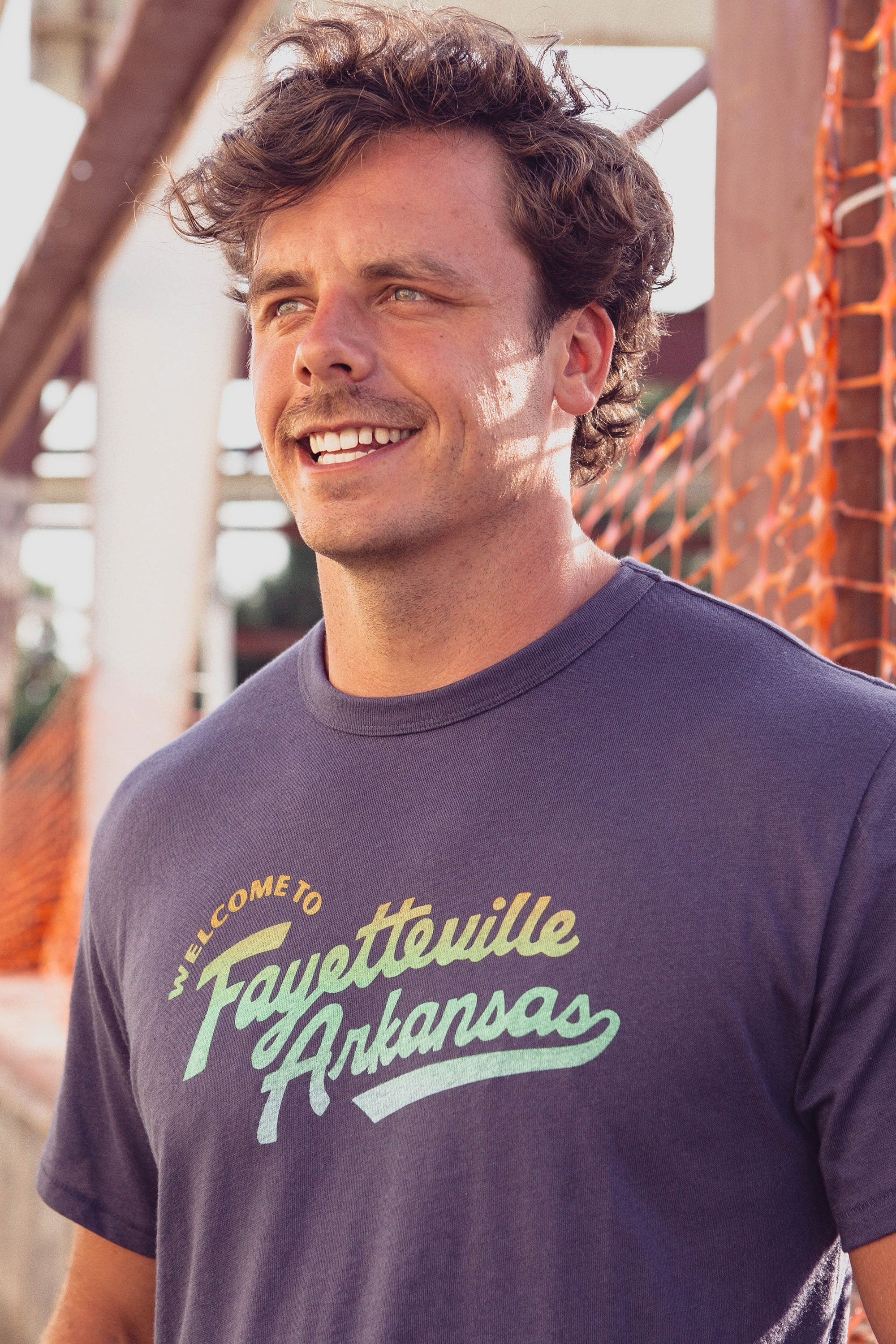 Welcome To Fayetteville T-Shirt Navy