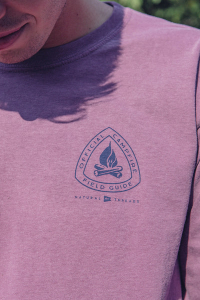 Campfire Field Guide LS T-Shirt Brick