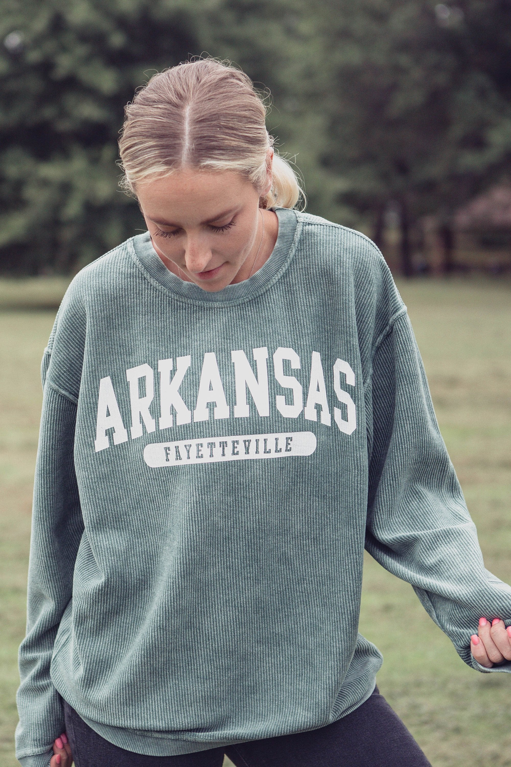 COMPLETELY CUSTOMIZABLE Personalized Corded Crewneck