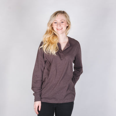 Bella + Canvas 3150 Long Sleeve Jersey Henley