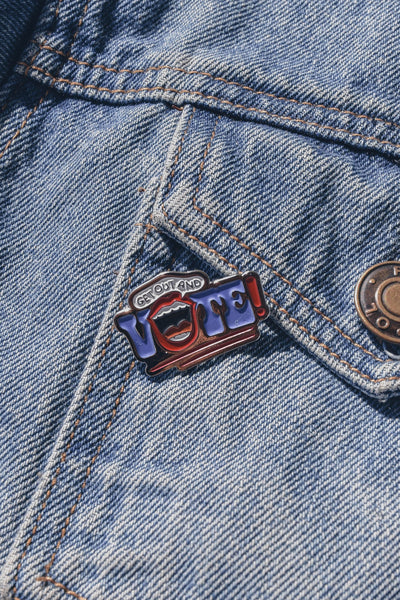 Get Out and Vote! Pin