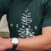 The Ozarks Tee (Solid Forest Triblend)