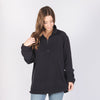 Harriton M980 Quarter Zip Fleece Pullover