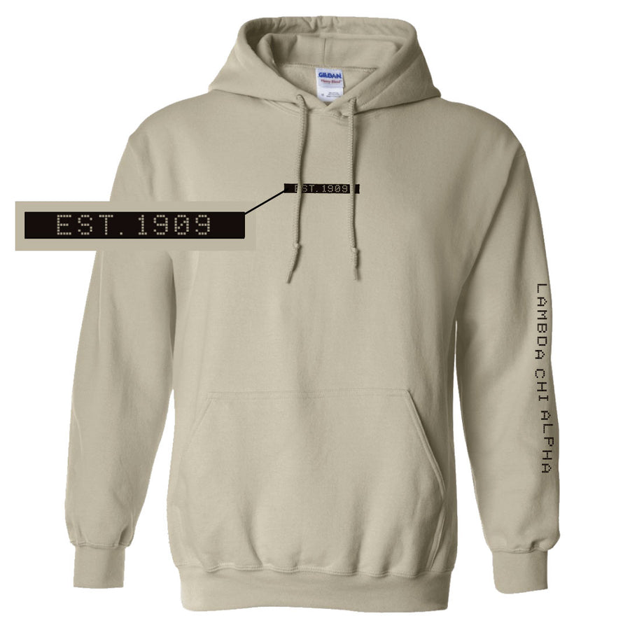 Connect the Dots Fraternity Hoodie Lambda Chi Alpha