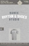 Rhythm & Shoes - Block Font Shirt (YOUTH Dri-Fit)