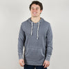 Model wearing Alternative Apparel 08629 School Yard Burnout Hoodie