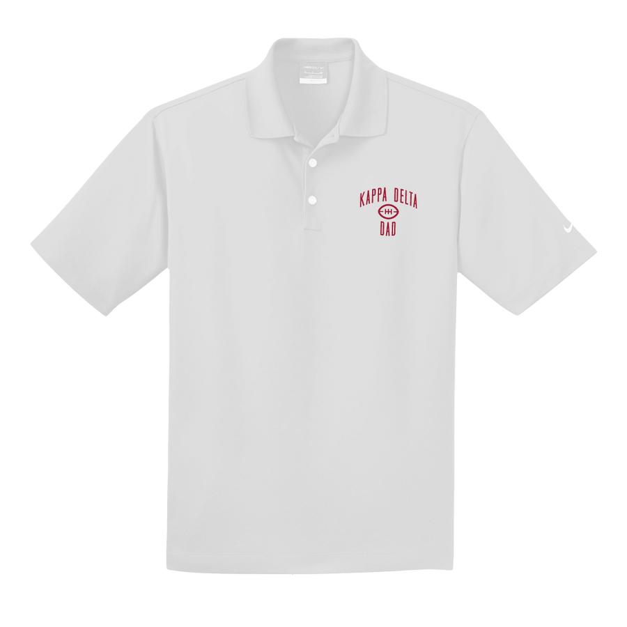 UofA KD - Dad's Day Polo (White) - EXTRA