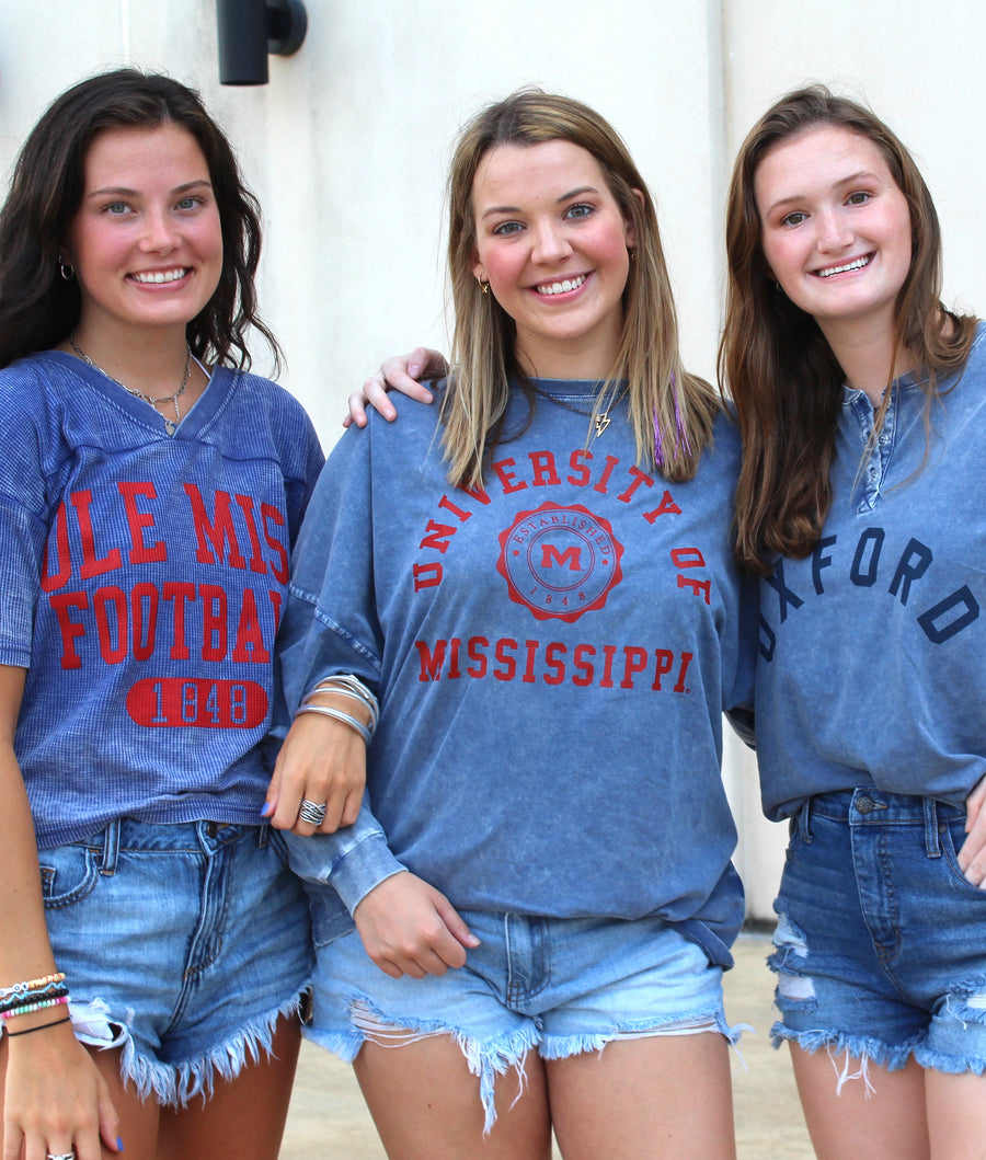 Ole Miss Seal Big Shirt