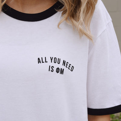 All You Need Is Phi Mu T-Shirt