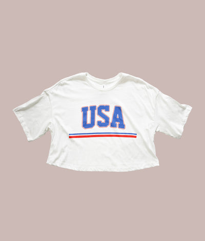 Throwback USA Crop
