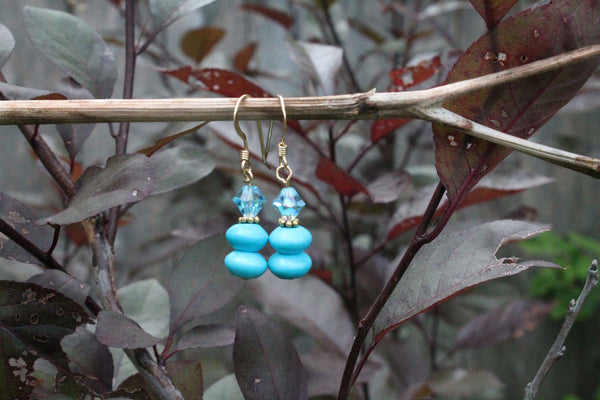 Clearance - Howlite Earrings