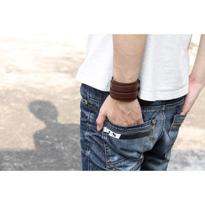 Omnisex Leather Wrist Bracelet