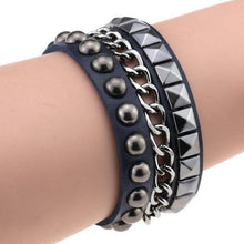 Load image into Gallery viewer, Multilayer Cuff Leather Omnisex Bracelet