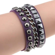 Load image into Gallery viewer, Multilayer Cuff Leather Omnisex Bracelet - vibesberlin1