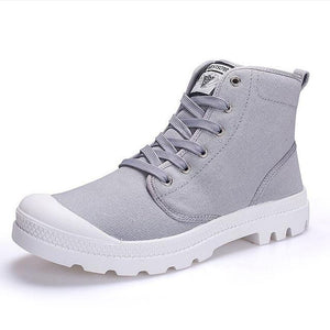 Casual Canvas Athleisure Bright Color Boots - vibes.berlin