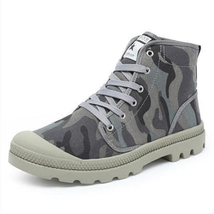 Casual Canvas Athleisure Bright Color Boots