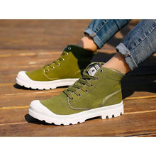 Load image into Gallery viewer, Casual Canvas Athleisure Bright Color Boots