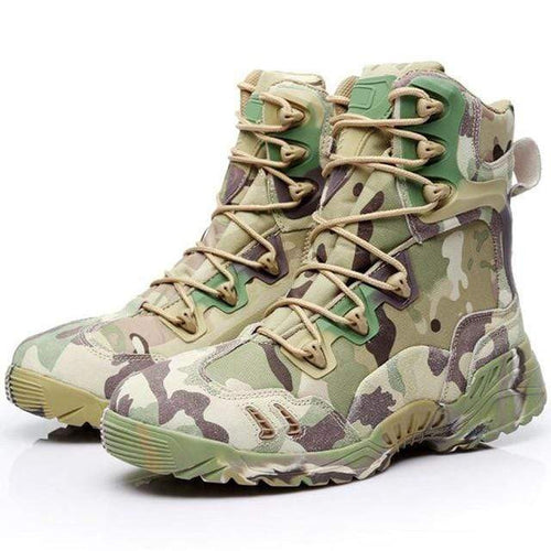 Tactical Waterproof Camouflage Boots