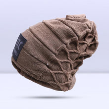 Load image into Gallery viewer, Omnisex Warm Hipster Beanie-vibes.berlin-A Khaki-vibes.berlin