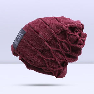 Omnisex Warm Hipster Beanie-vibes.berlin-A Red-vibes.berlin