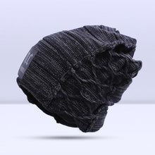 Load image into Gallery viewer, Omnisex Warm Hipster Beanie-vibes.berlin-B Black-vibes.berlin